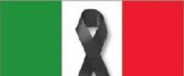 MARTEDI' 31 MARZO 2020 BANDIERA ITALIANA A MEZZ'ASTA IN SEGNO DI LUTTO PER LE VITTIME DEL CORONAVIRUS