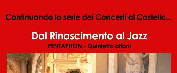 Domenica 17 Concerto dal Rinascimento al Jazz