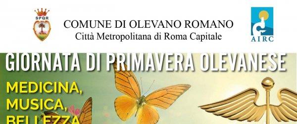 19 MAGGIO 2018 - GIORNATA DI PRIMAVERA OLEVANESE