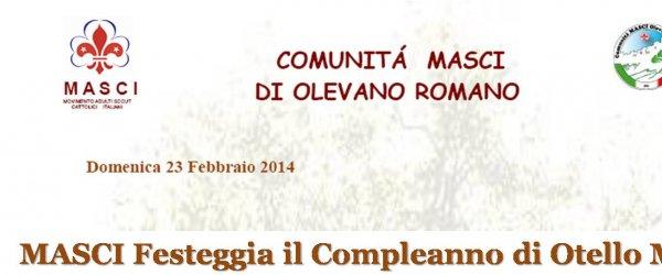 Domenica 23 la comunit?? MASCI festeggia il 90° compleanno di Otello Milana