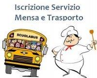 iscrizione mensa , scuolabus e pedibus A.S. 2017-2018