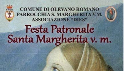 20 LUGLIO 2017  S. MARGHERITA DI ANTIOCHIA - FESTA PATRONALE