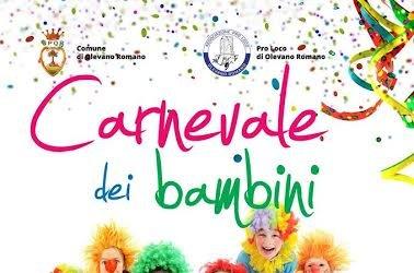 Domenica 7 il Carnevale dei bambini