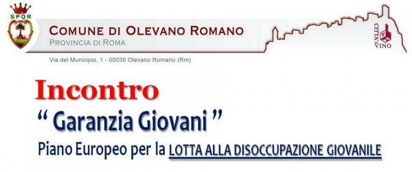 """""""Garanzia Giovani 2010-2014""""  politiche e opportunit?? di occupazione giovanile della Regione Lazio"""