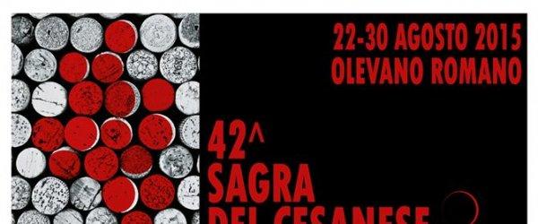 Dal 22 al 30 agosto la Sagra del Cesanese di Olevano Romano