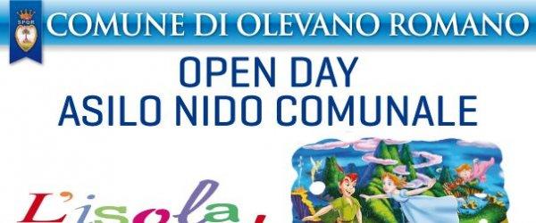 Sabato 24 Maggio l'Open Day all'asilo nido comunale l'isola che non c'