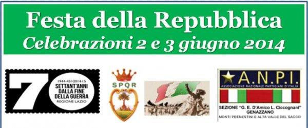 Il 2 giugno Festa della Repubblica e 70^ ricorrenza del martirio di Sorvigliano